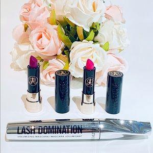 NEW Anastasia lipsticks Beauty bundle Bareminerals